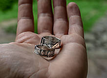 Prstene - Naše obrúčky - náš príbeh /v striebre/ - 12081520_