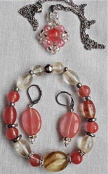 Sady šperkov - Šťavnatý melón - 12082436_