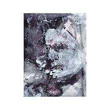 Obrazy - dievčatko so zápalkami . akryl na výkrese - 12081727_