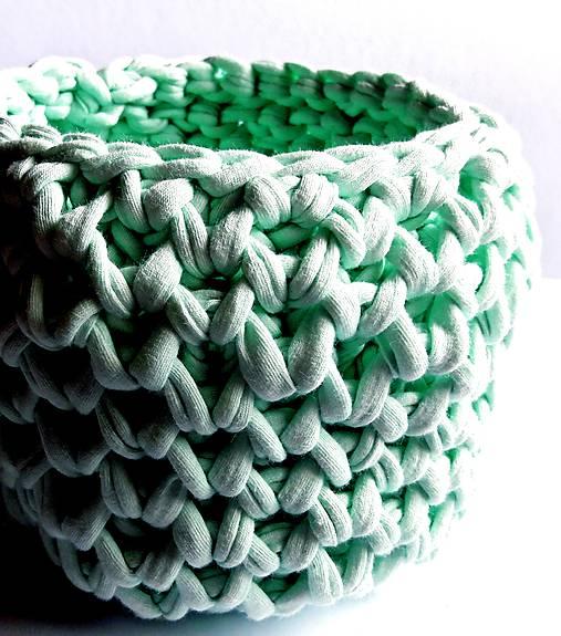 Zelený košík