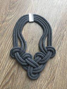 Náhrdelníky - Viazaný náhrdelník - IV. (S magnetom) - 12082656_