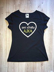 Tričká - tričko pre pani učiteľku - 12081412_