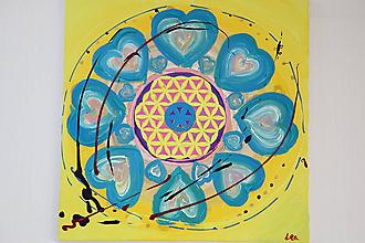 Obrazy - Kvet života - obraz - 12083023_