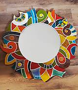 Zrkadlá - Originálne keramické zrkadlo - 12084019_