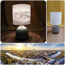 Svietidlá a sviečky - Lampa s 3D tienidlom - 12082702_