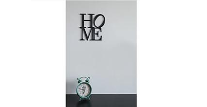 Dekorácie - Nápis HOME - hrúbka 5mm - 12082735_
