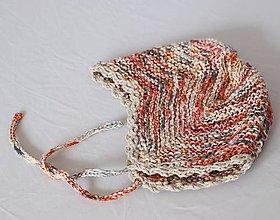 Detské čiapky - Čiapočka pre dieťatko z konope - 12085244_
