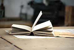 Papiernictvo - kožený zápisník BALOON - 12086640_
