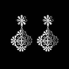 Náušnice - Náušnice ornament 1 - Trakovice - 12085883_