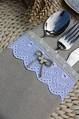 Úžitkový textil - Obal na príbor - 12086449_