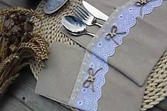 Úžitkový textil - Obal na príbor - 12086450_