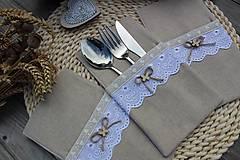 Úžitkový textil - Obal na príbor - 12086451_