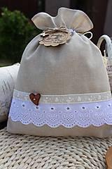 Úžitkový textil - Vrecúška - 12086535_