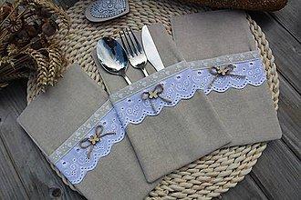 Úžitkový textil - Obal na príbor - 12086446_