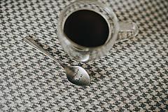 Pomôcky - Vintage presso lyžička ďakujem že si - 12088917_
