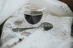 Pomôcky - Vintage presso lyžička ďakujem že si - 12088922_
