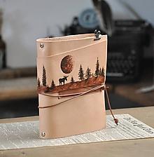 Papiernictvo - kožený karisblok RANGIFER - 12089902_