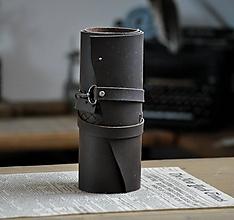 Papiernictvo - kožený rolovací peračník SCRIPTO - 12090035_