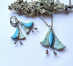 Sady šperkov - Keramické šperky - sada - Zvončekovité - 12090987_