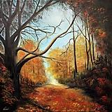 Obrazy - Tajomstvo lesa - 12089948_