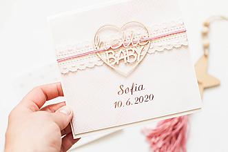 """Papiernictvo - Pohľadnica baby """"Sofia"""" - 12090199_"""
