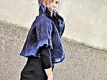 Kabáty - Modré bolerko - 12094334_