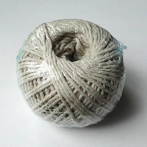 Bavlnený motúzik/knôt 1,5mm-1ks