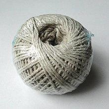 Galantéria - Bavlnený motúzik/knôt 1,5mm-1ks - 12094189_