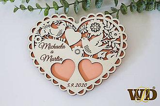 Prstene - Tanierik na obrúčky - 12093488_