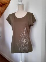 Tričká - Tričko maľované - trávy - 12092223_