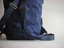 """Batohy - Smaller Urban Batoh """"Navy blue"""" - 12092473_"""