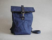 """Batohy - Smaller Urban Batoh """"Navy blue"""" - 12092523_"""