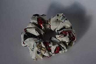 Ozdoby do vlasov - Darčeková scrunshies - 12093791_