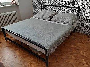 Nábytok - Manželská posteľ - 12091559_