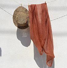 Šatky - Mohér..hrdzavý - 12092661_