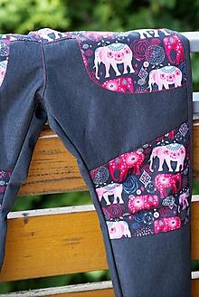 Detské oblečenie - Letné softshellky v 110 - 12095645_