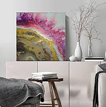 Obrazy - Vo farbách achátu - 12097480_