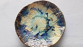 Nádoby - Keramika, Mísa Aqua - 12096363_