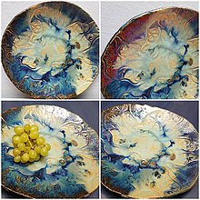 Nádoby - Keramika, Mísa Aqua - 12096359_