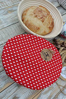 Úžitkový textil - Čiapka na ošatku-oválna - 12095006_