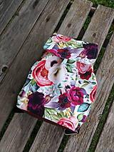 - Jednoduchý softshellový dievčenský batoh - 12096543_