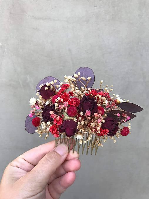 """Kvetinový hrebienok """"z tvojich listov"""""""