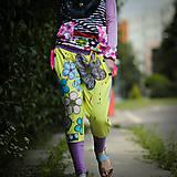 Šaty - Origo teplakošky kvety limit - 12097571_