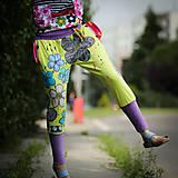 Šaty - Origo teplakošky kvety limit - 12097572_