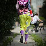 Šaty - Origo teplakošky kvety limit - 12097573_