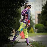 Šaty - Origo teplakošky kvety limit - 12097574_