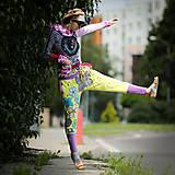 Šaty - Origo teplakošky kvety limit - 12097575_