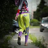 Šaty - Origo teplakošky kvety limit - 12097576_