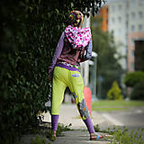 Šaty - Origo teplakošky kvety limit - 12097577_
