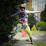 Šaty - Origo teplakošky kvety limit - 12097578_